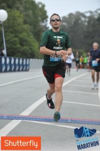 Finish Line at the SF Half Marathon 2014