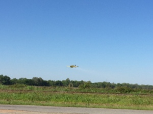 Crop Dusting in Clarksdale