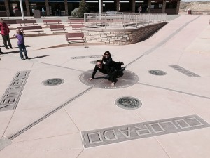 Push Up @ The Four Corners