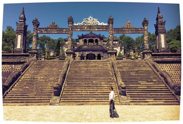 Tomb of Khải Định, Hue